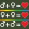 Homo-Ehe, gleichgeschlechtliche Liebe, Love is Love, Ehe für alle