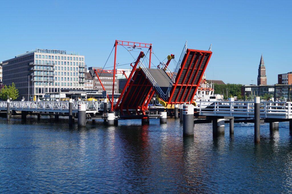 Die Hörnbrücke in Kiel